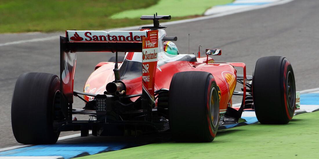 Sebastian Vettel - Ferrari - Formel 1 - GP Deutschland - Hockenheim - 29. Juli 2016