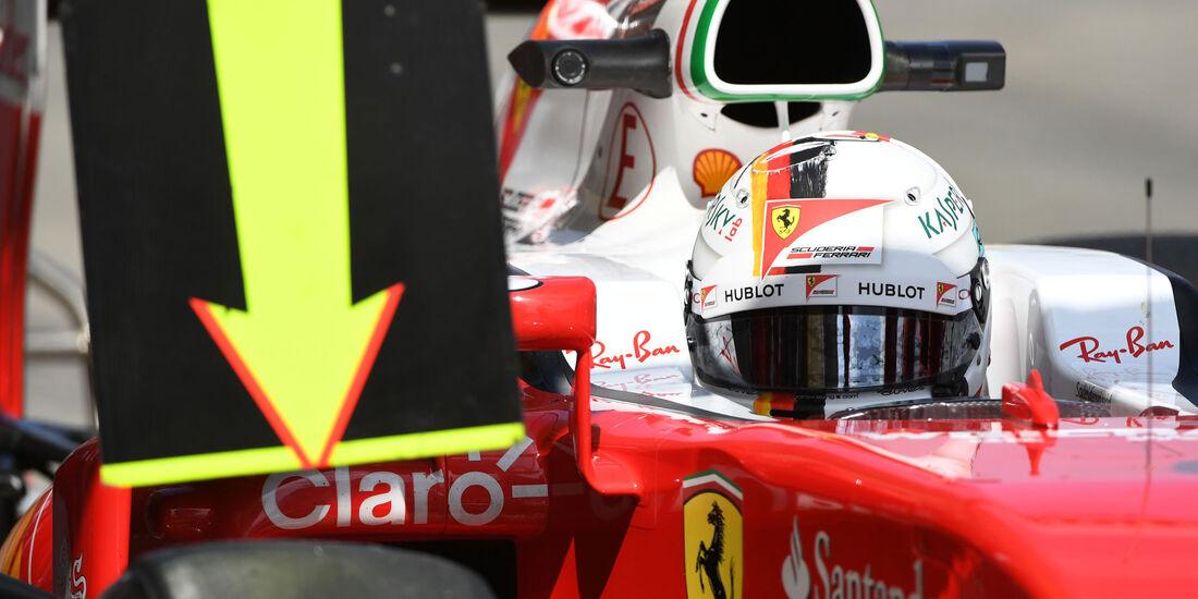 Sebastian Vettel - Ferrari - Formel 1 - GP Japan - Suzuka - Freitag - 7.10.2016
