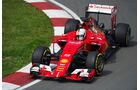 Sebastian Vettel - Ferrari - Formel 1 - GP Kanada - Montreal - 5. Juni 2015
