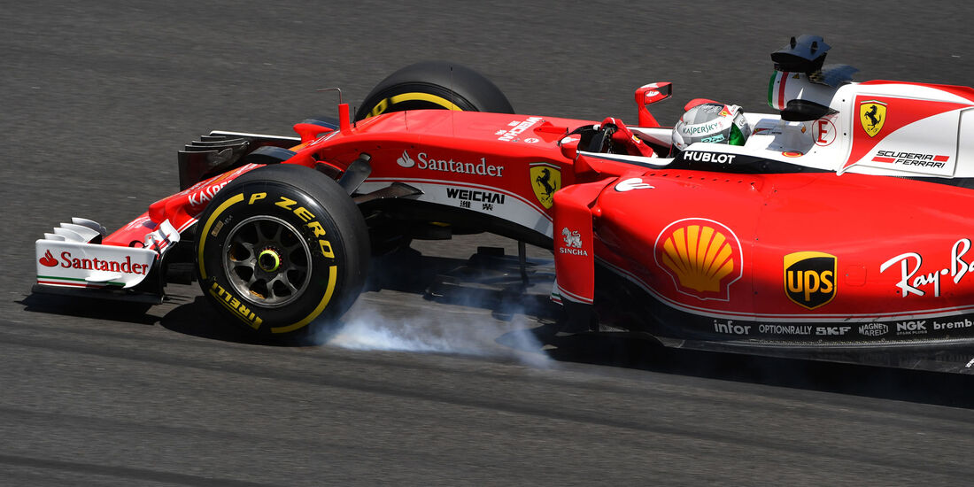 Sebastian Vettel - Ferrari - Formel 1 - GP Malaysia - Freitag - 30.9.2016
