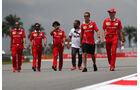 Sebastian Vettel - Ferrari - Formel 1 - GP Malaysia - Sepang - 28. September 2017