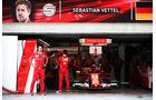 Sebastian Vettel - Ferrari - Formel 1 - GP Malaysia - Sepang - 30. September 2017