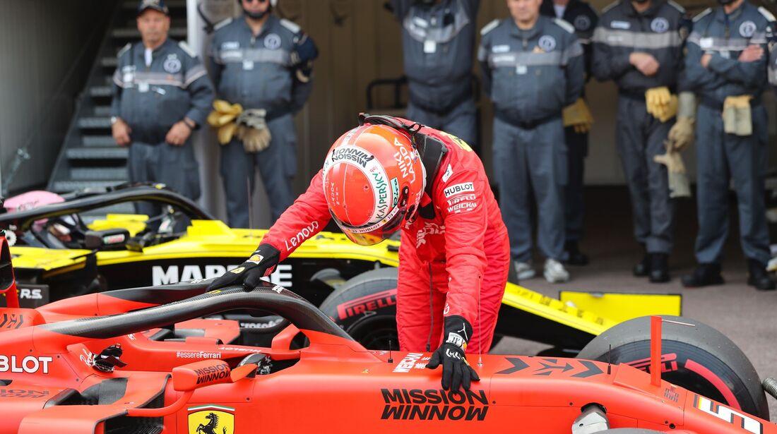 Sebastian Vettel - Ferrari - Formel 1 - GP Monaco - 25. Mai 2019