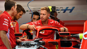 Sebastian Vettel - Ferrari - Formel 1 - GP Singapur - 13. September 2018
