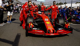 Sebastian Vettel - Ferrari - GP Australien 2019 - Melbourne