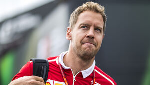 Sebastian Vettel - Ferrari - GP Belgien - Spa-Francorchamps - Formel 1 - 24. August 2017