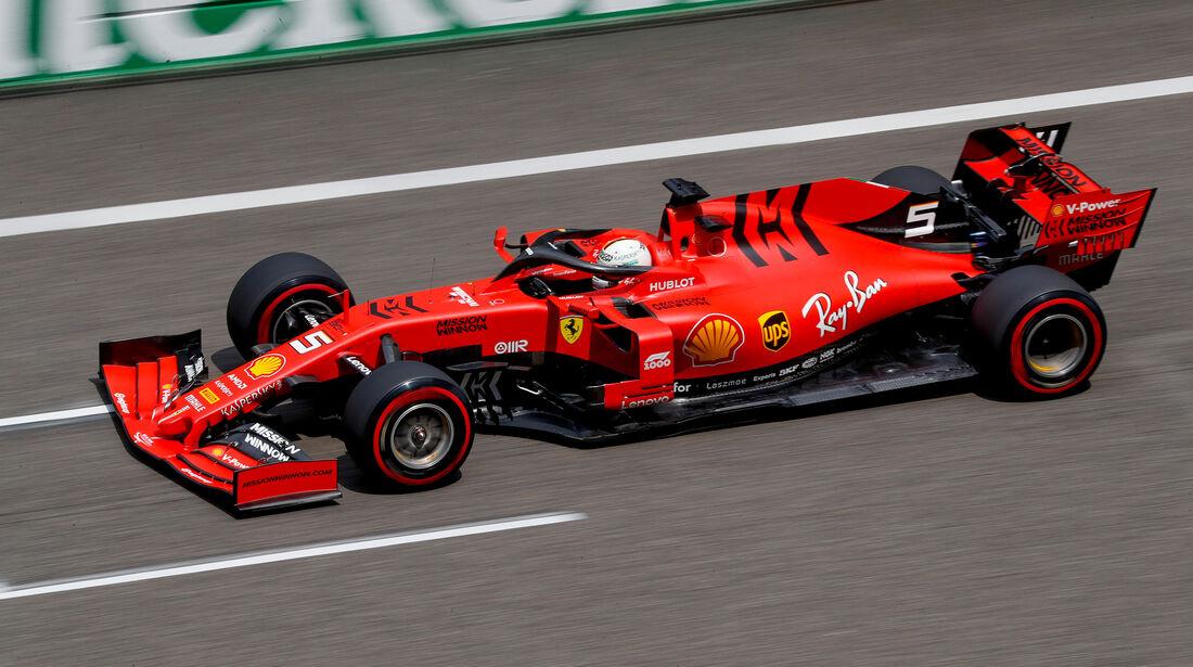 Sebastian Vettel - Ferrari - GP China - Shanghai - Samstag - 13.4.2019