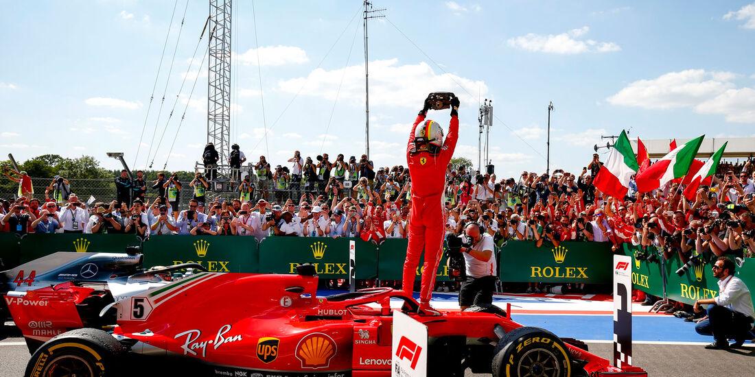 Sebastian Vettel - Ferrari - GP England 2018 - Silverstone - Rennen