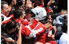 Sebastian Vettel - Ferrari - GP England - Silverstone - Rennen - Sonntag - 5.7.2015