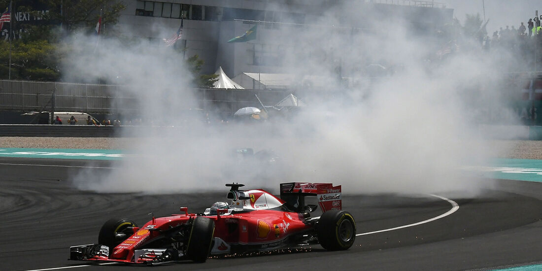 Sebastian Vettel - Ferrari - GP Malaysia 2016 - Sepang