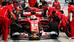 Sebastian Vettel - Ferrari - GP Malaysia 2017 - Sepang