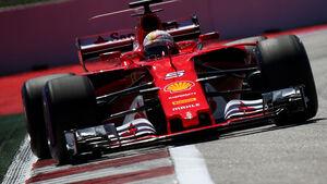 Sebastian Vettel - Ferrari - GP Russland 2017