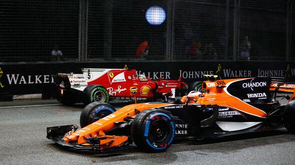 Sebastian Vettel - Ferrari - GP Singapur 2017 - Rennen