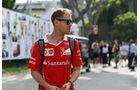 Sebastian Vettel - Ferrari - GP Singapur - Formel 1 - Donnerstag - 14.9.2017