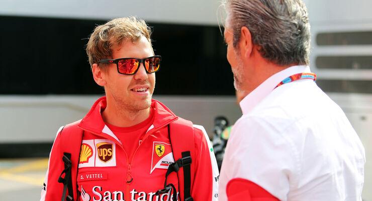 Sebastian Vettel - Ferrari - GP Spanien 2015 - Barcelona - Donnerstag - 7.5.2015