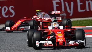 Sebastian Vettel - Ferrari - GP Spanien 2016