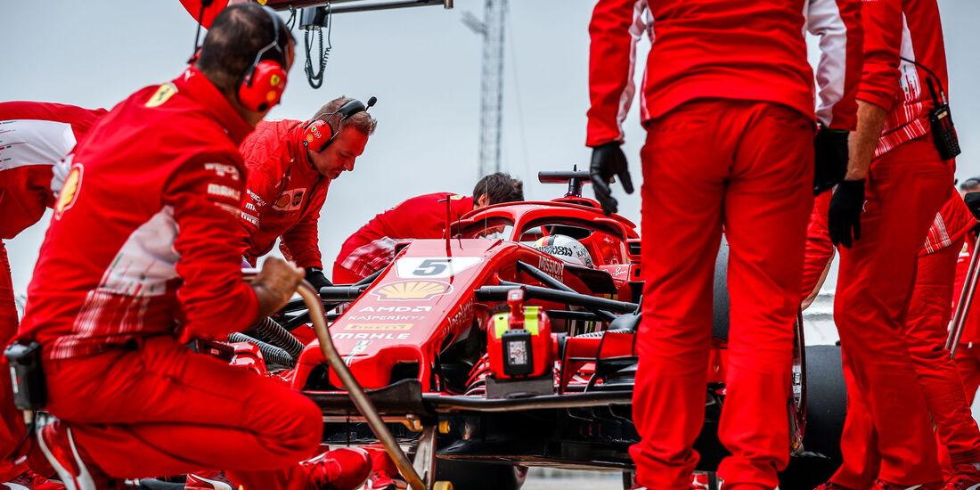 Sebastian Vettel - Ferrari - GP USA 2018