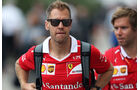 Sebastian Vettel - Ferrari - GP USA - Austin - Formel 1 - Freitag - 20.10.2017