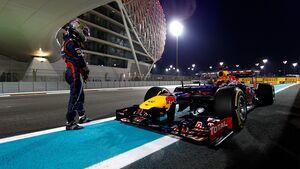 Sebastian Vettel - Formel 1 - GP Abu Dhabi - 03. November 2012