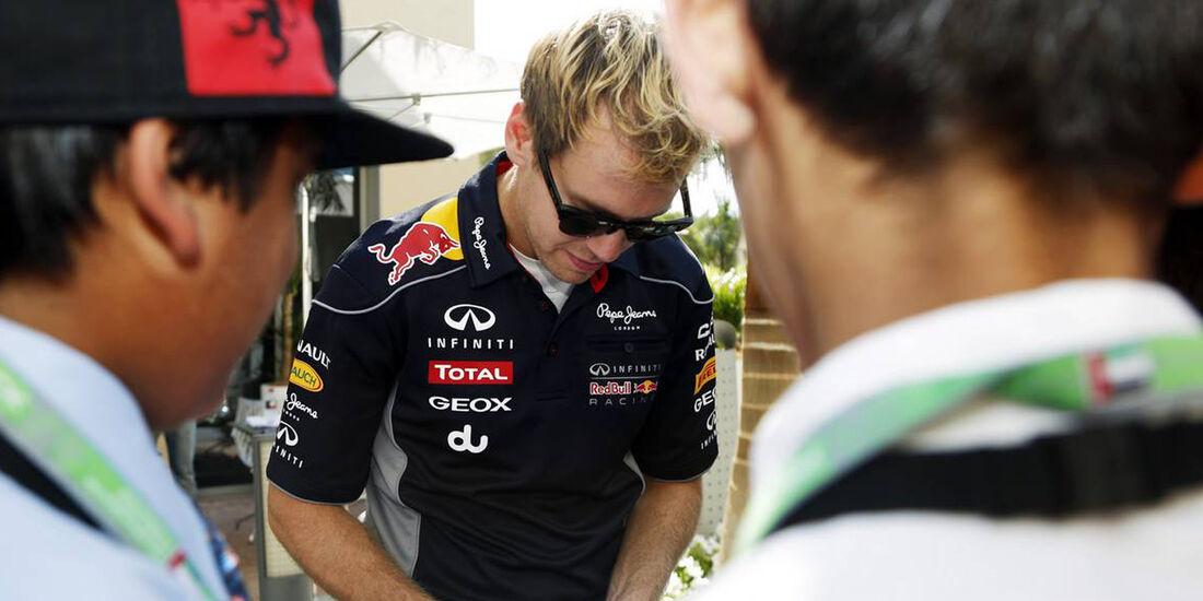 Sebastian Vettel  - Formel 1 - GP Abu Dhabi - 31. Oktober 2013