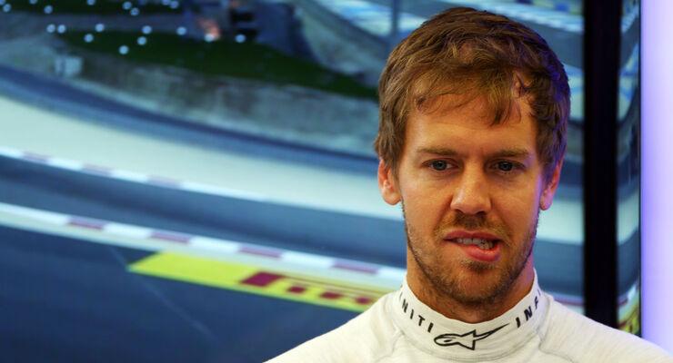 Sebastian Vettel - Formel 1 - GP Bahrain 2014