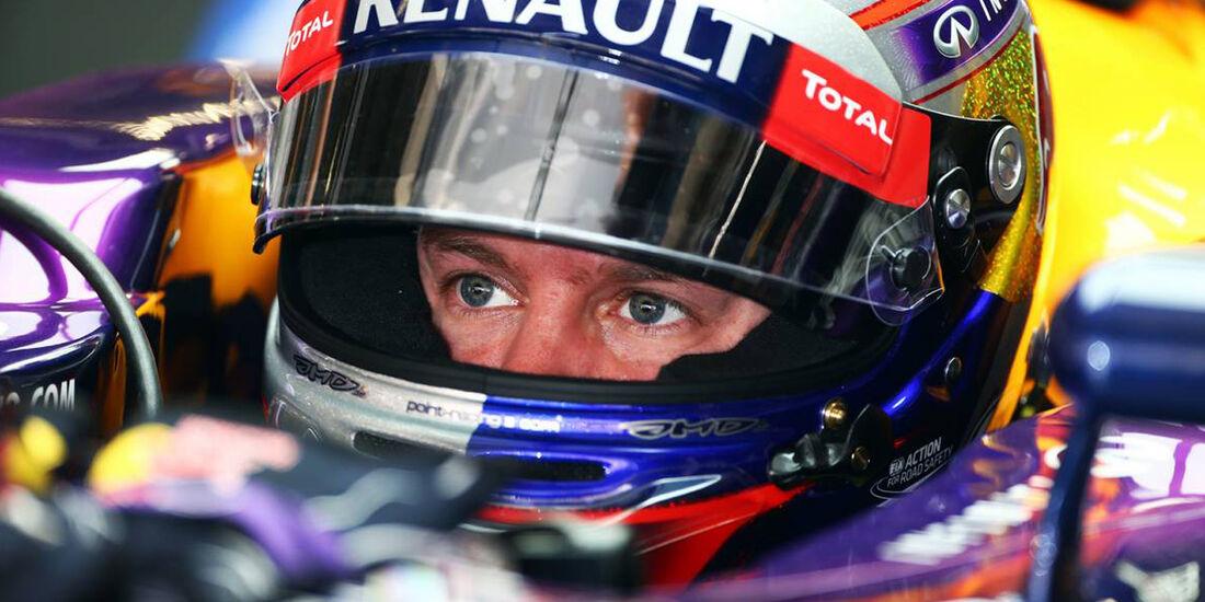 Sebastian Vettel - Formel 1 - GP China - 12. April 2013