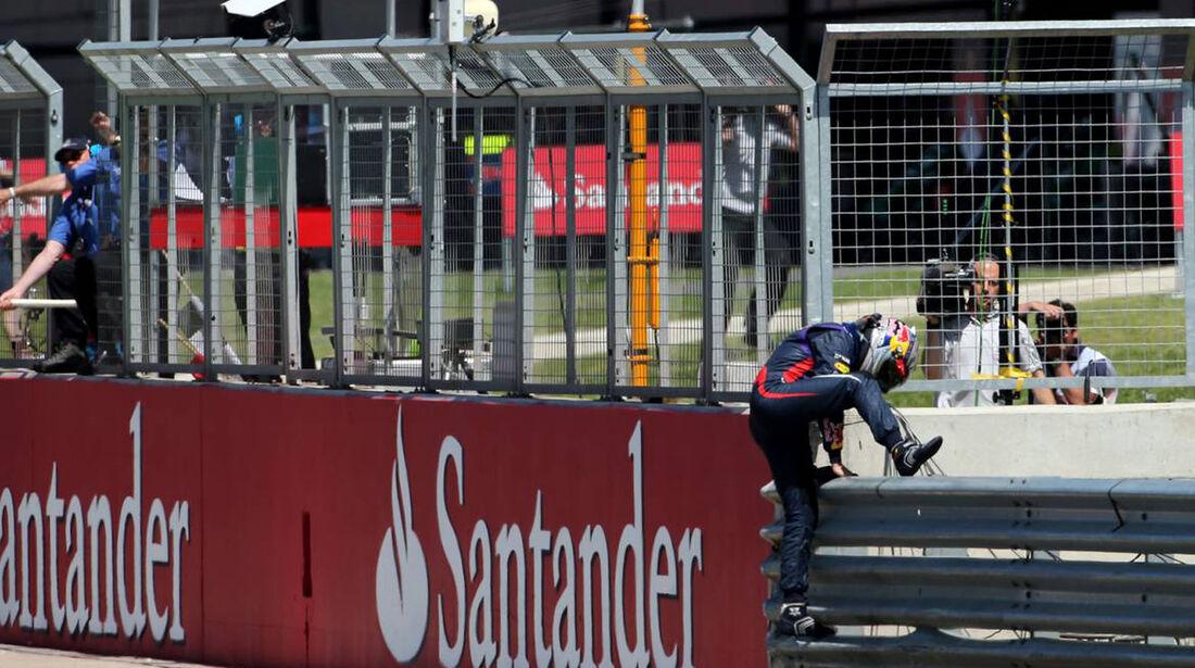 Sebastian Vettel  - Formel 1 - GP England - 30. Juni 2013