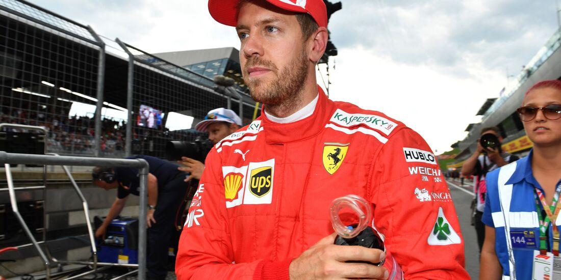 Sebastian Vettel - Formel 1 - GP Österreich - 30. Juni 2018
