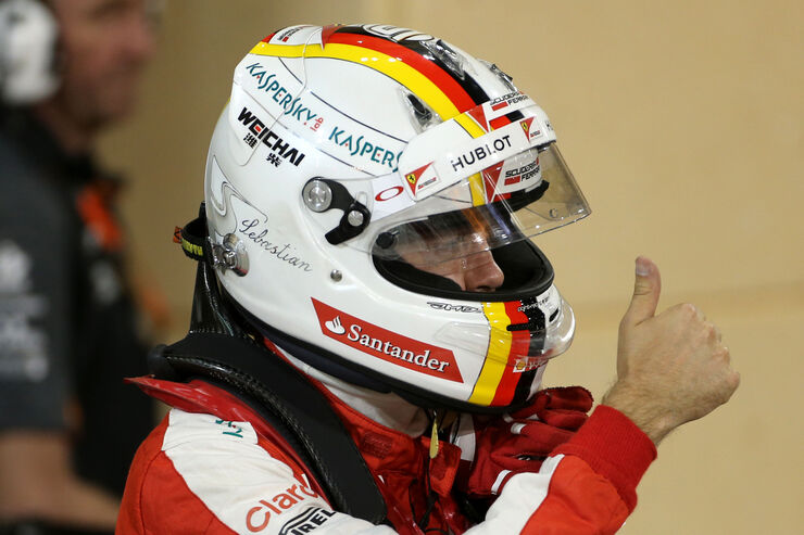 Vettel in der ersten Reihe: Ferrari im Rennen schwer zu schlagen