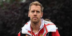 Sebastian Vettel - GP Belgien 2017