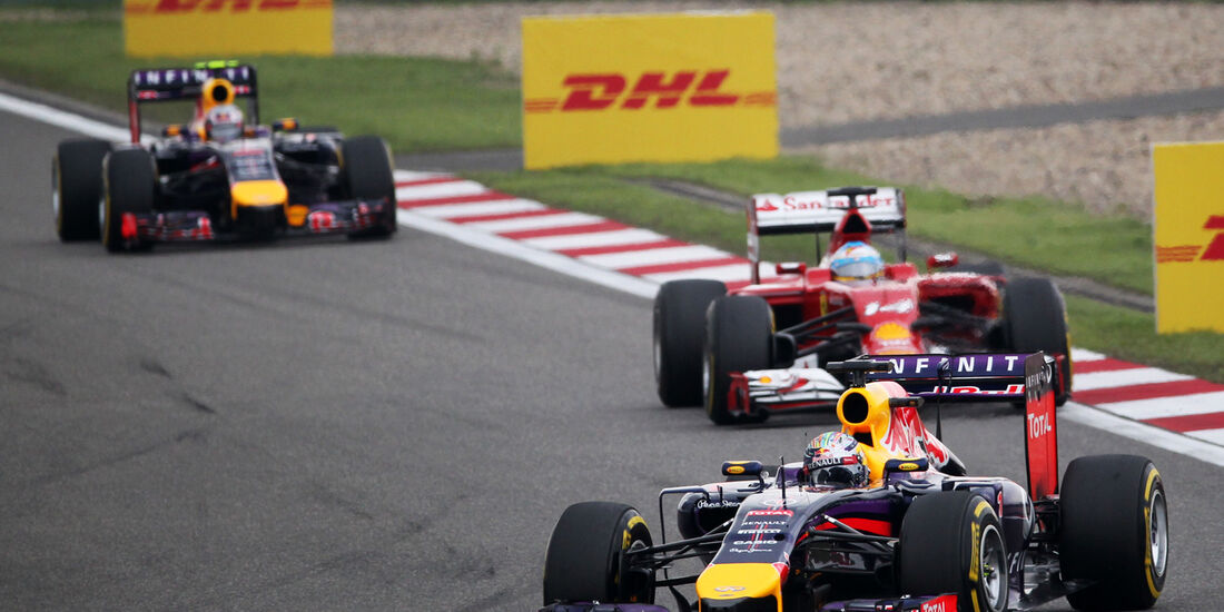 Sebastian Vettel - GP China 2014