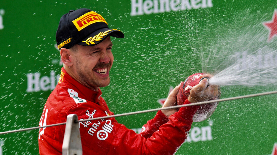Sebastian Vettel - GP China 2019