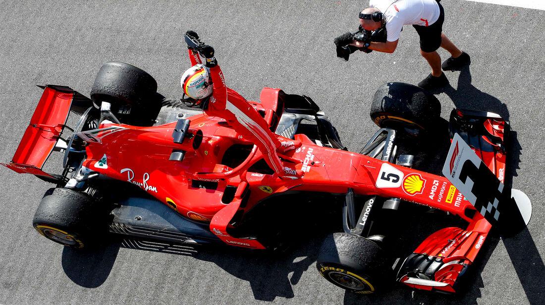 Sebastian Vettel - GP England 2018
