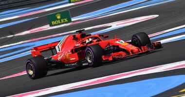 Sebastian Vettel - GP Frankreich 2018