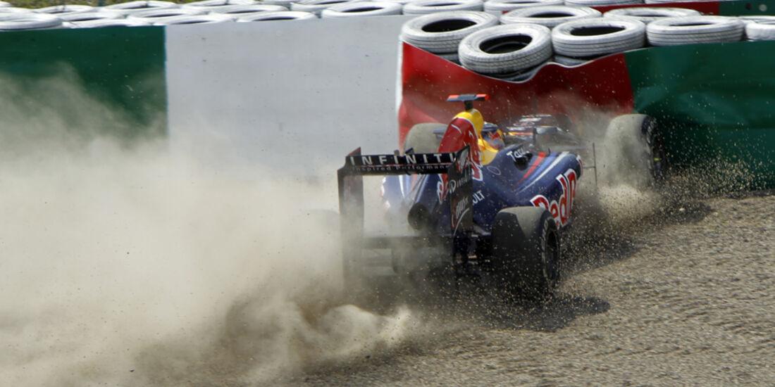 Sebastian Vettel GP Japan  Crashs 2011