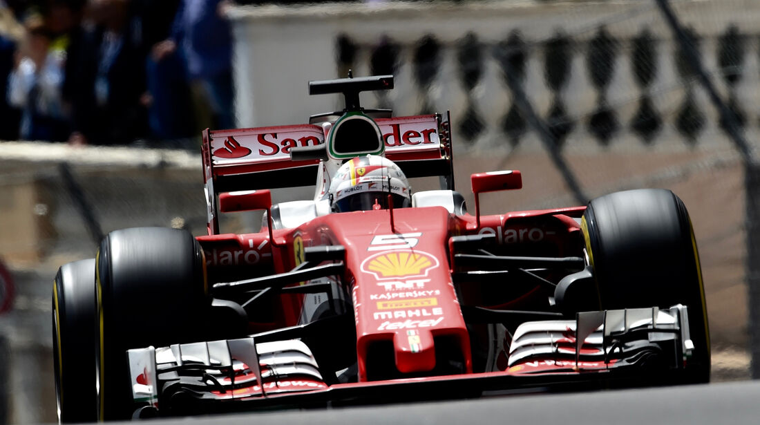 Sebastian Vettel - GP Monaco 2016