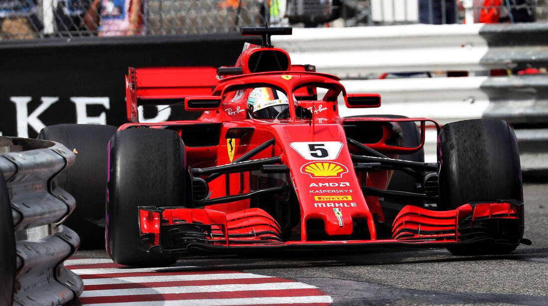 Sebastian Vettel - GP Monaco 2018
