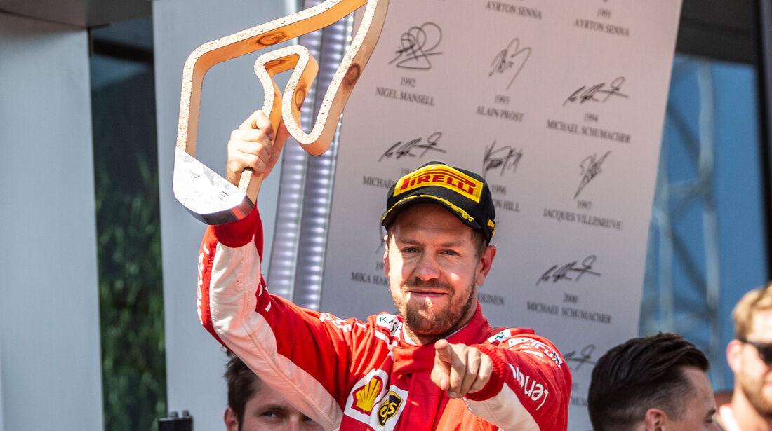 Sebastian Vettel - GP Österreich 2018