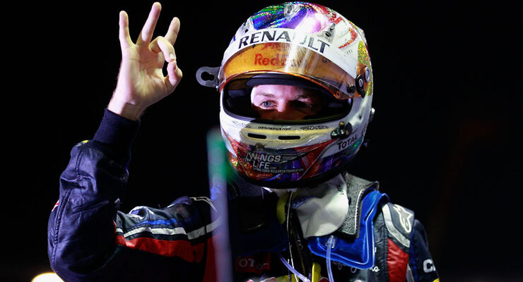 Sebastian Vettel GP Singapur 2011