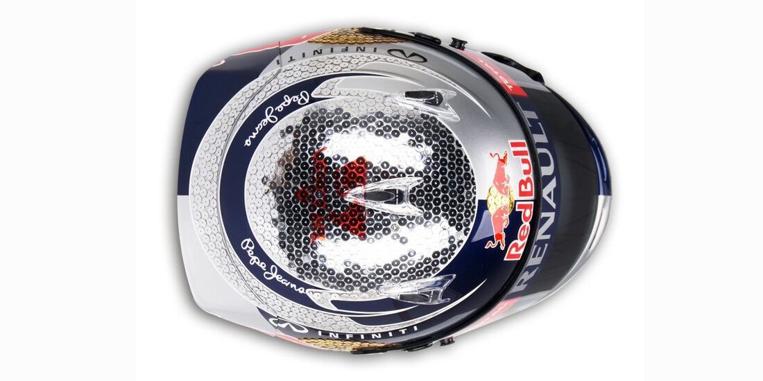 Sebastian Vettel Helm GP Monaco 2012