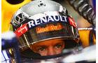 Sebastian Vettel Helm Singapur 2012