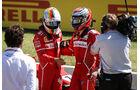 Sebastian Vettel - Kimi Räikkönen - Ferrari - GP Ungarn 2017 - Budapest - Qualifying