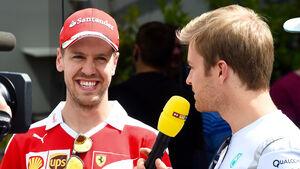 Sebastian Vettel & Nico Rosberg - GP Spanien 2016