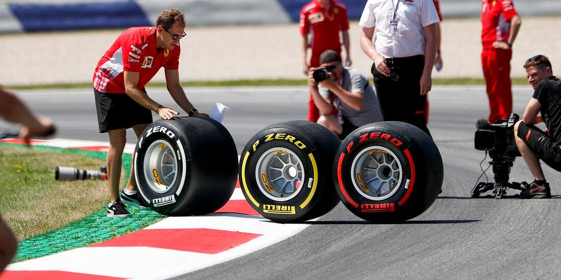 Sebastian Vettel - Pirelli - GP Austria 2019