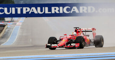 Sebastian Vettel - Pirelli-Reifentest - Paul Ricard - 2016