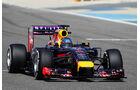 Sebastian Vettel - Red Bull - Formel 1 - Bahrain - Test - 20. Februar 2014