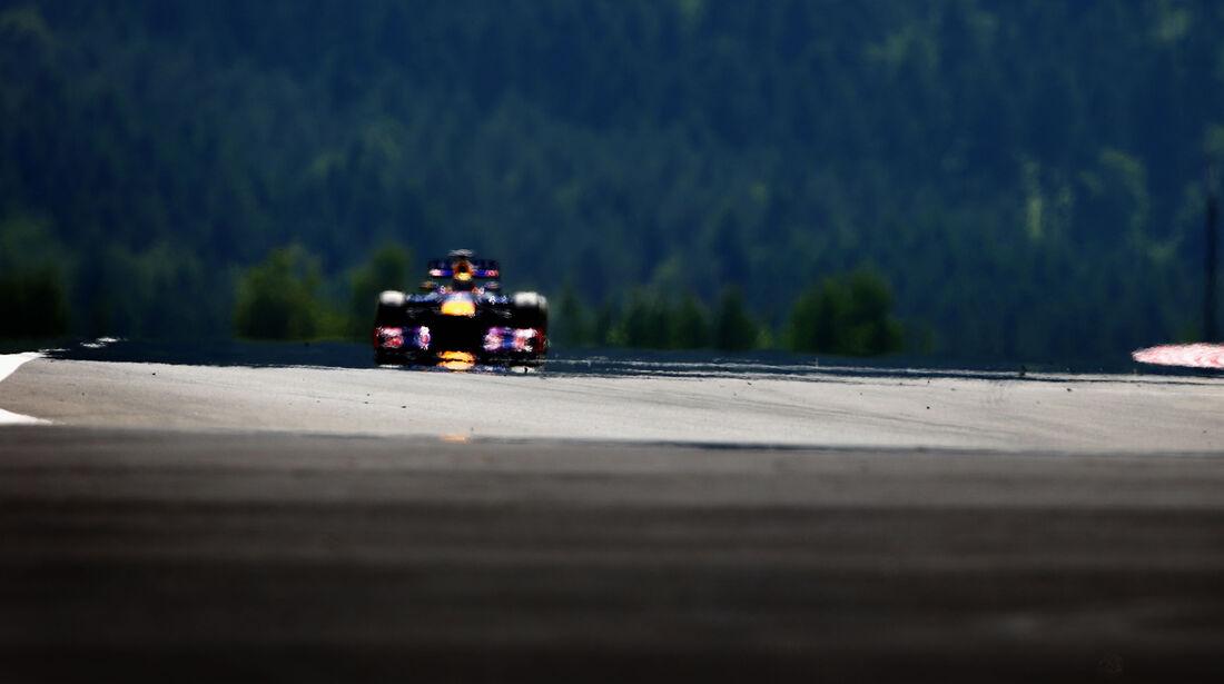 Sebastian Vettel - Red Bull - Formel 1 - GP Deutschland - 6. Juli 2013