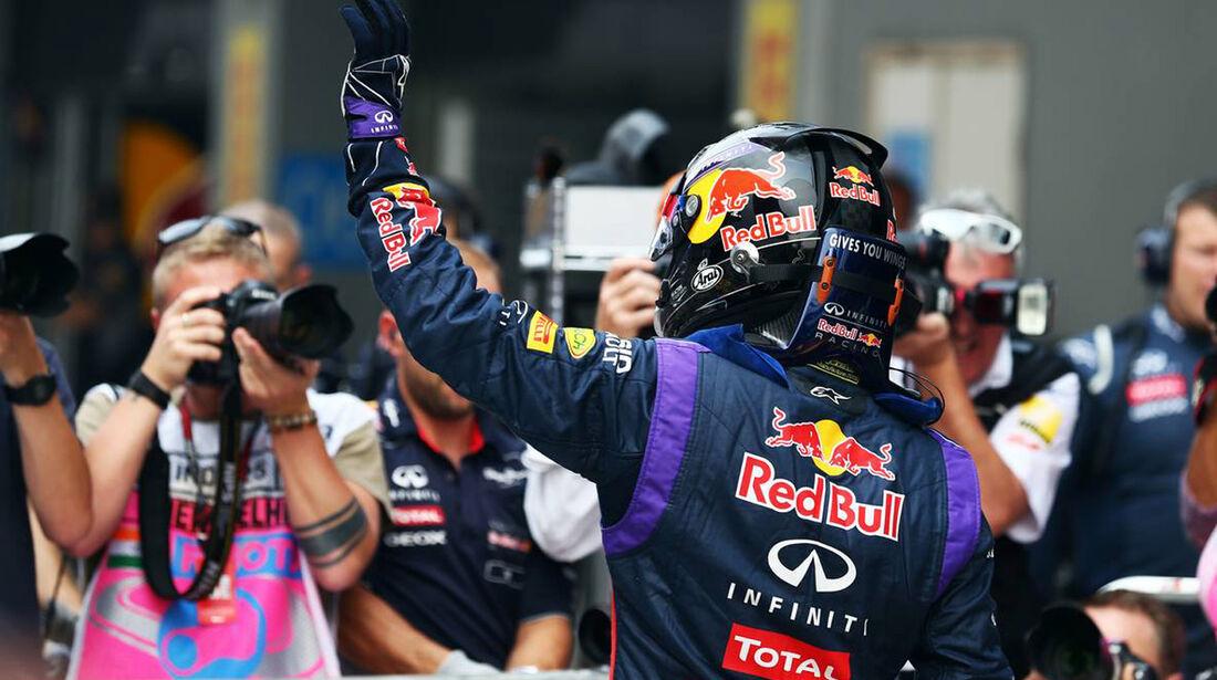 Sebastian Vettel - Red Bull - Formel 1 - GP Indien - 26. Oktober 2013