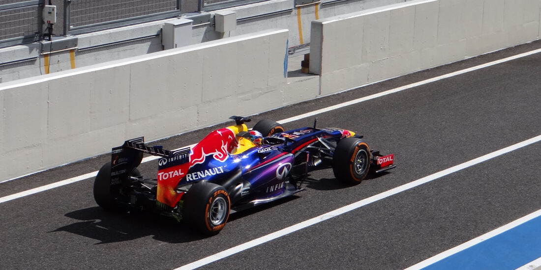 Sebastian Vettel - Red Bull - Formel 1 - GP Japan 2013