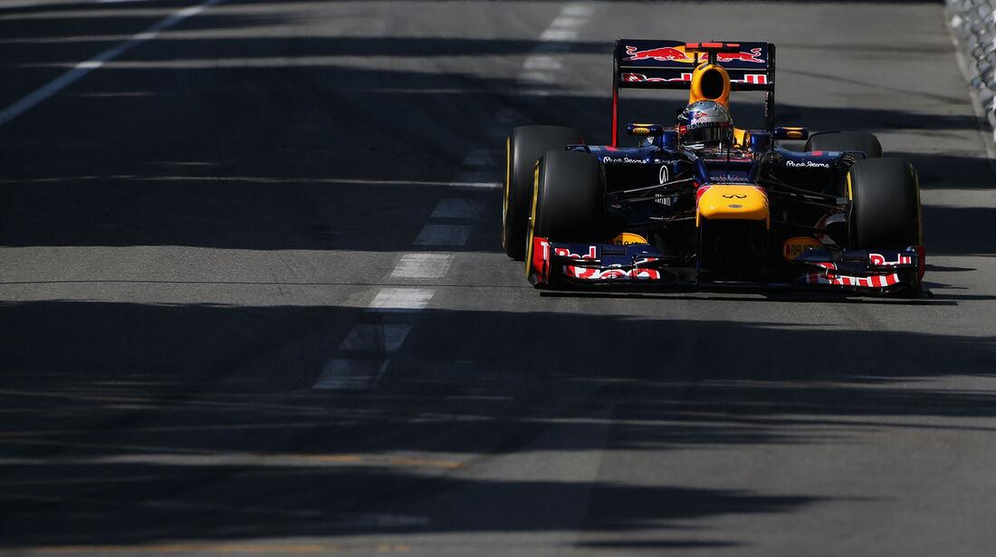 Sebastian Vettel - Red Bull - Formel 1 - GP Monaco - 24. Mai 2012